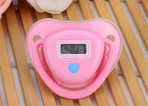 Ubesta Fashion Baby Temp Infant Kid Waterproof Nipple Thermometer Soother Temp Mouth Health Safe