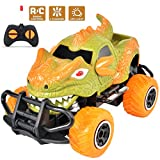 PBOX Monster Remote Control Car,4 Channel Electric Off Road Climbing Vehicle Toy Cars,1:43 Scale Car Toy for Age 4 and Above Boys Girls Best Gift