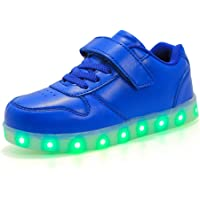Lovelysi Unisex Zapatos Zapatillas de LED 7 Colors