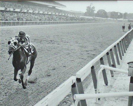 Secretariat Wins At Belmont 8 x 10 Classic Old Photos Vintage Classic Rare Find (Rare Vintage Photo)