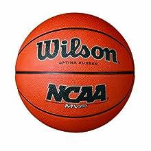 """Wilson NCAA MVP Rubber Basketball, Official - 29.5"""""""