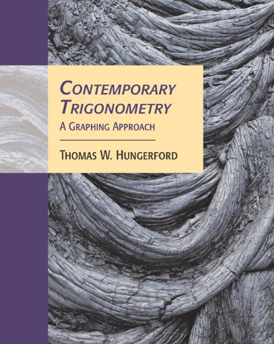 Bundle: Contemporary Trigonometry: A Graphing Approach (with CD-ROM and iLrn Tutorial) + Student Solutions Manual