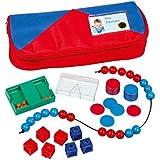 Betzold 86466 - Mathe-Set Federmäppchen - Mathematik-Startset Grundschule - Einschulung Rechnen lernen Kinder Lernmittel