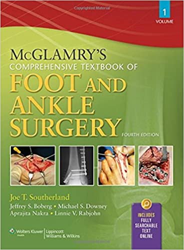 McGlamry`s Comprehensive Textbook Of Foot And Ankle Surgery: Amazon ...