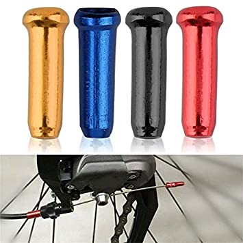 KEBIN Aluminium Alloy Bicycle Brake Line Cap 30 PCS Bike Derailleur Cable End Cap