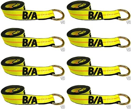 Ships in 1 to 2 Business Days Century and more. Fits JerrDan set of 8 Wrecker Rollback BA Products 38-1-10-x8 10 Lasso Strap for Wheel Lift Tow Truck