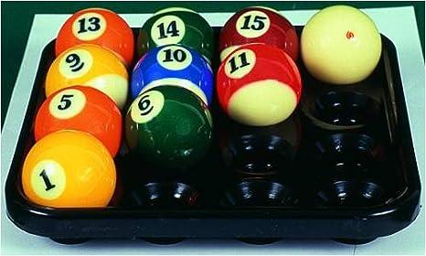 De bandeja para 16 pool-bolas. Zubehör_146001: Amazon.es: Deportes ...