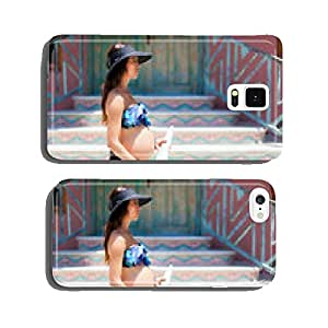 Pregnant woman on the way to the beach cell phone cover case iPhone6