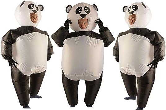 PETSOLA Disfraz De Panda Inflable De 3 Piezas con Guante Unisex ...