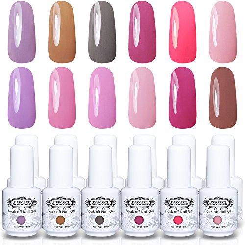 Gel Nail Polish Qatar: Perfect Summer Brand Choose Any 6pcs Different Colour Gel