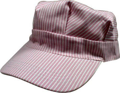 Hickory Striped Railroad Hat - Toddler - Girls - Pink [ht04-02] ()