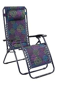 Mountain Warehouse Chaise longue pliante de jardin Confort, Pour ...
