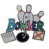 #1 Bowler Pin