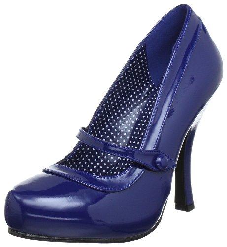Pleaser Pinup Couture Cutiepie-02 Damen Pumps Blau (blu Marino Pat)