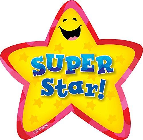 Creative Teaching Press Super Star Badges (1070) -