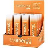 Tru Energy | All Natural Caffeine Energy Shots | Antioxidants Plus Vitamin B | Wake Up Blend (Tropical Orange Mango, 12 pack)