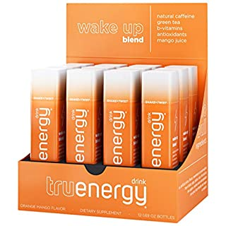 Tru Energy Shots, Natural Energy Shot with Antioxidants and Vitamin B Complex, Wake Up Blend, 1.69 Fl Oz (Pack of 12)