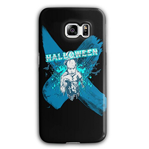 [Halloween Horror Cult Scary Demon NEW Black 3D Samsung Galaxy S6 Edge Plus Case | Wellcoda] (High Priest Zombie Costumes)