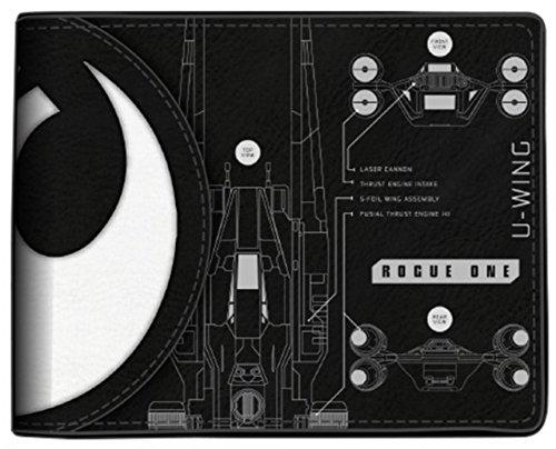 bioworld-mens-star-wars-rogue-one-death-star-bi-fold-wallet-black-one-size