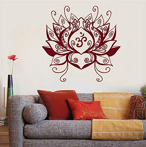 Flor de loto Centro de Yoga Meditación Budismo Pegatinas de Vinilo ...