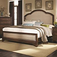 Casual Upholstered Bed (California King - 79.5 in. L x 86 in. W x 71 in. H)