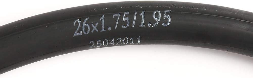 with 2 Nylon Plastic Tire Levers Thorn Resistant Mountain Bike Inner Tube LotFancy 2 Pcs 26 x1.75//1.95 Schrader Valve 26 Inch Bike Tire Tube Bike Tubes 32mm