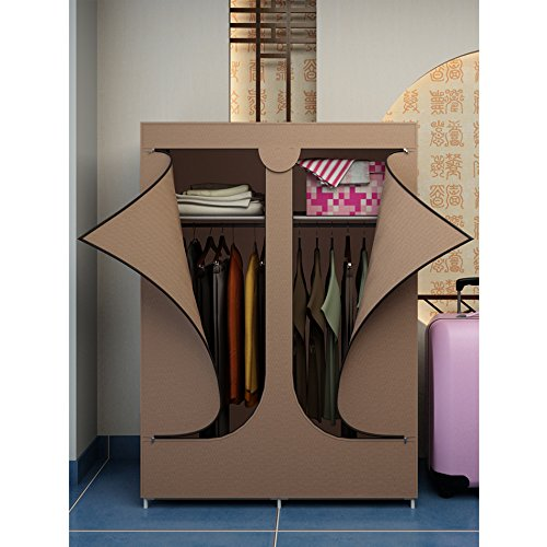 Portable Wardrobe Storage Closet Organizers Clothes Rack Storage Shelves In The Uae See Prices