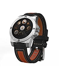 (Black) Waterproof Bluetooth Smart Watch for Children Baby Kids Anti Lost Hands-Free Call Compatible with Android 4.3+ and iOS8+
