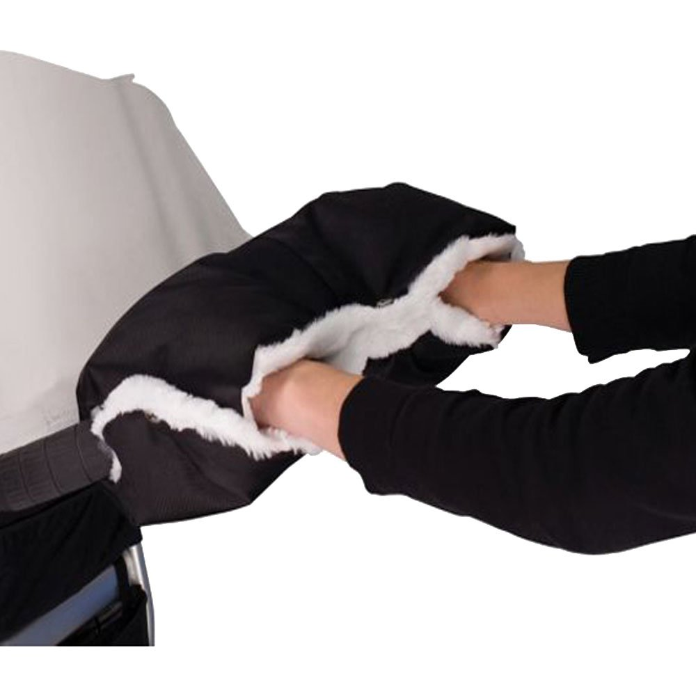Stroller Handmuff, Handwä rmer Handschuhe,Muff mit Fleece Innenseite, Wasserdicht und Winddicht fü r Baby Buggy Kinderwagen (Schwarz) vientiane