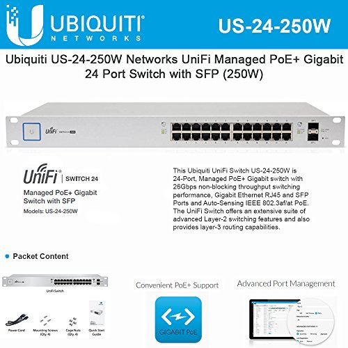 Ubiquiti US-24-250W Unifi Switch24-port250W