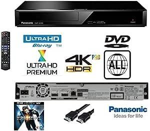 Panasonic Reproductor de BLU-Ray 4K Ultra HD con reproducción de ...