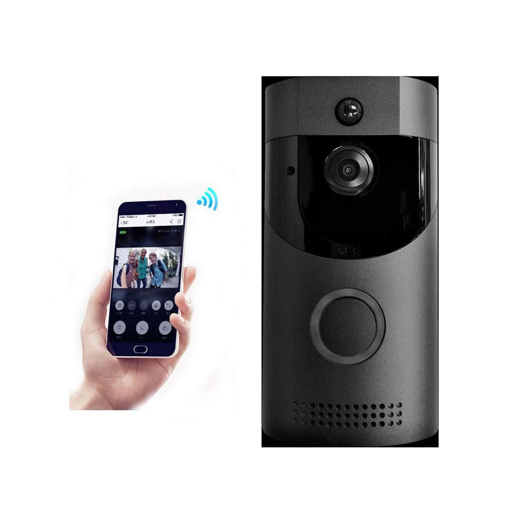 WMIAO Visual Türklingel Intelligent Alarm Türklingel Unterstützung In Echtzeit Zwei-Wege-Video-Sprechanlage PIR Bewegungserkennung Und Infrarot-Nachtsicht-Anwendung Steuerung