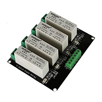 TOOGOOR 4 Channel SSR Solid State Relay Highlow Trigger 5A 332V