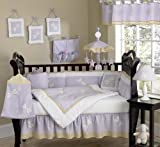 Sweet Jojo Designs Dragonfly Dreams Lavender Baby Girl Purple Bedding 9pc Crib Set