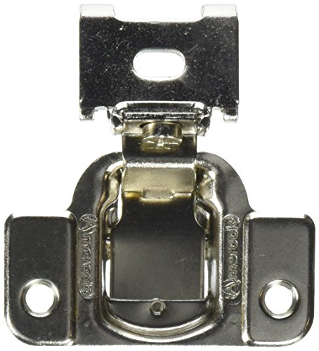 Amerock BP2811J23-14 Nickel Finish Matrix 1/2-Inch Overlay 2-Way Adjustable Concealed Cabinet Hardware Hinge - 10 Pair Pack