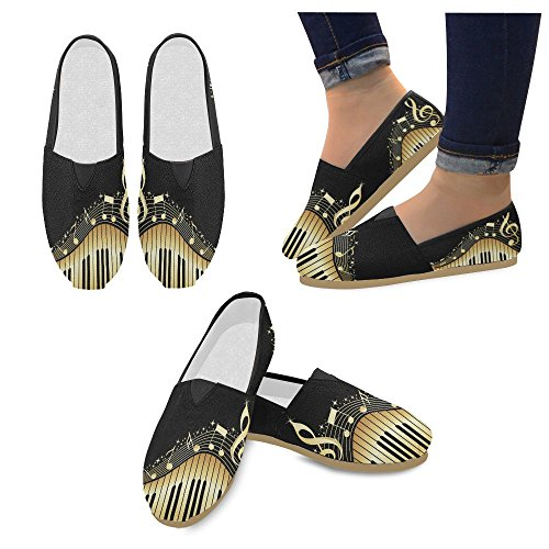 M-story Fashion Sneakers Flat Mare Wave Donna Classic Slip-on Scarpe Di Tela Mocassini Multi28