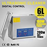 Adoner Stainless Steel 6L Liter Industry Heated 6L Ultrasonic Cleaner Heater w/Timer CA