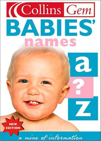 Babies' Names (Collins Gems) PDF