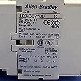 ALLEN BRADLEY 110/120V 3 POLE CONTACTOR, 100-C37D10 SER. C, NIB