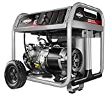 Briggs & Stratton 30607 Gas Powered Portable Generator with 1450 Series OHV 306cc Engine, 5000-watt