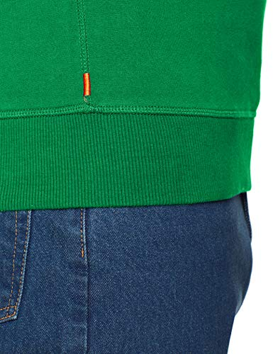 Homme pitch Superdry Crew Green Panel Stripe Logo Pull Vert 13e Vintage xwxBSPqY