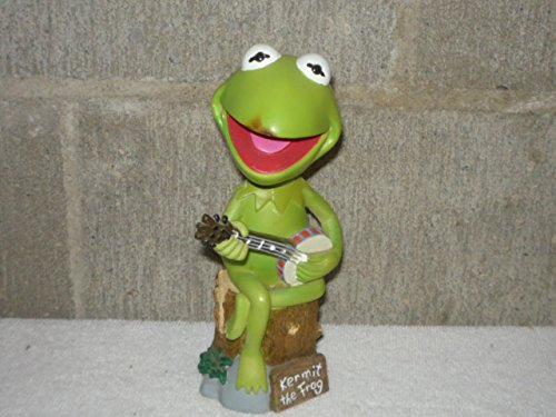Bobble Frog - VINTAGE BOBBLE DOBBLES LIMITED EDITION HAND PAINTED KERMIT THE FROG BOBBLEHEAD