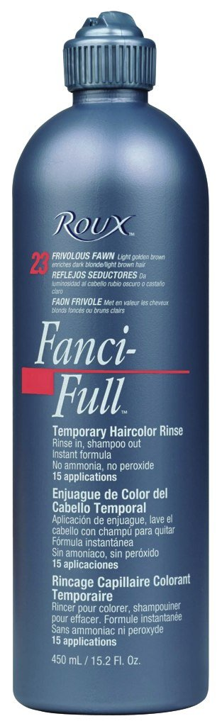 Roux Fanci-Full Temporary Hair Color Rinse - #23 - Frivo Fawn 450 ml (Pack of 6)