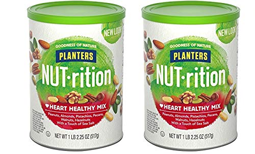Planters Nutrition Heart Healthy Mix, 2 Tubs