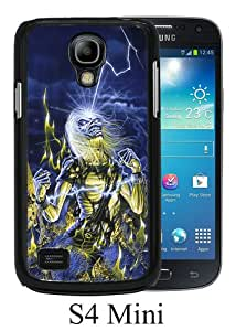 Samsung Galaxy S4 Mini Case ,Hot Sale And Popular Designed Samsung Galaxy S4 Mini Case With Iron Maiden 2 Black Hight Quality Cover