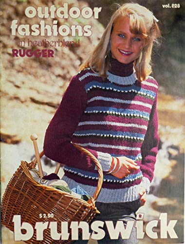 - Outdoor Fashions Knit Sweater Designs - Brunswick - Women and Children - Vol. 828