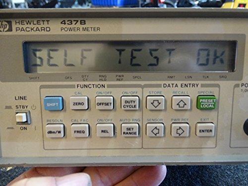 Hewlett Packard 437B Power Meter Agilent from HP
