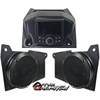 Drive Unlimiteds 2018 Polaris Ranger XP1000 AM/FM Bluetooth Color Display Stereo System - Two Rockford Fosgate Speakers