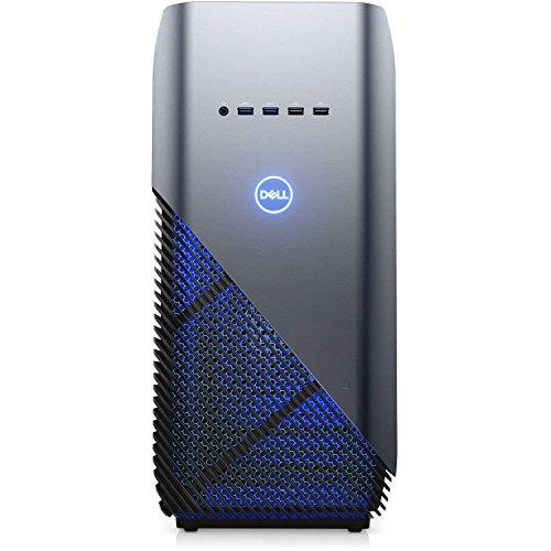 Dell Inspiron 5680 Gaming Desktop Intel 8th Gen. Core i7-8700 6 Core up to 4.60 GHz, 16GB DDR4 Memory, 256GB SSD + 1TB SATA Hard Drive, 8GB Nvidia GeForce GTX 1070, Windows 10 Home, Recon Blue