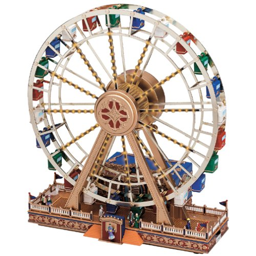 Worlds Fair Ferris Wheel - Gold Label World's Fair Animated Musical Miniature, Ferris Wheel